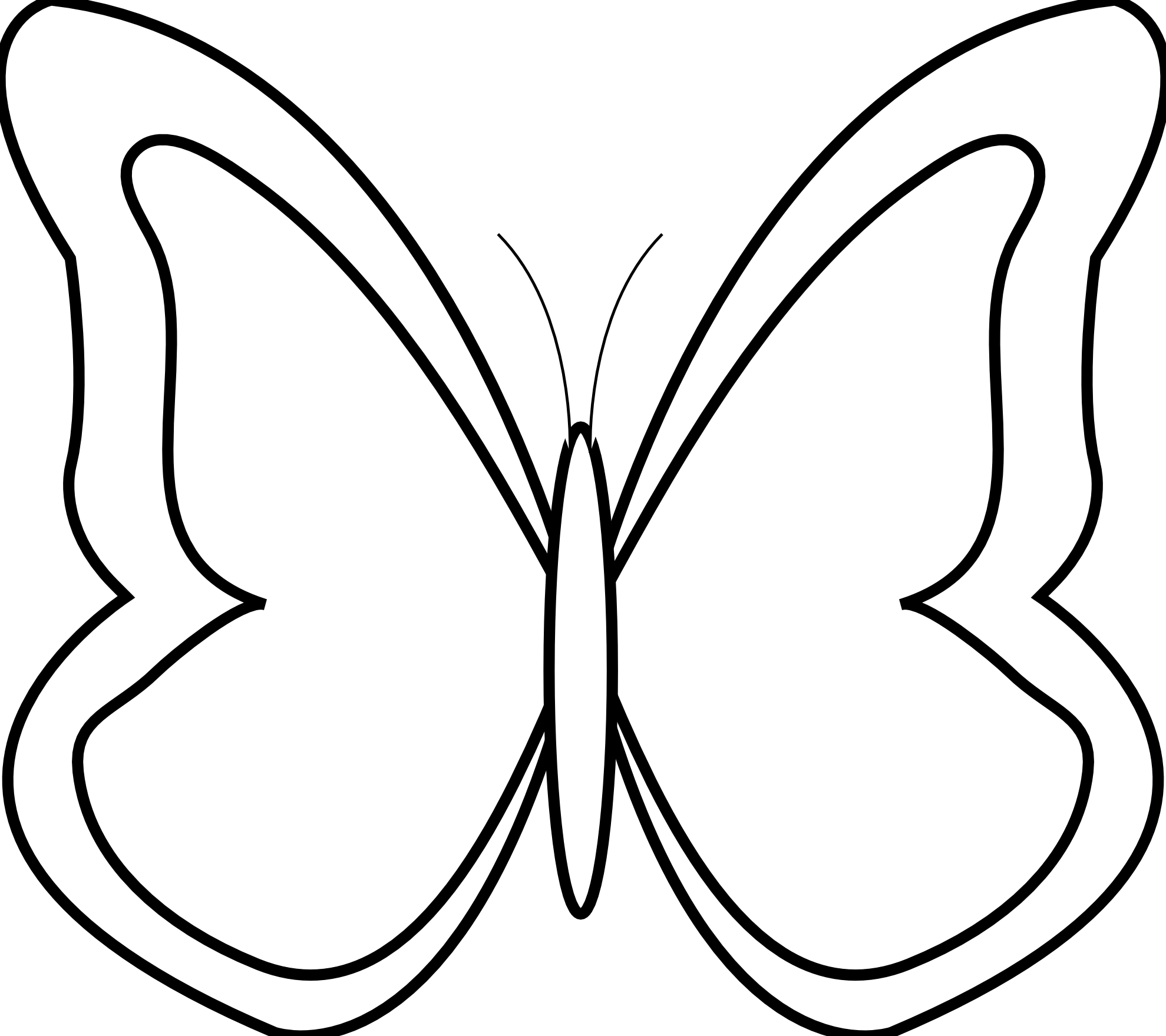butterfly clipart #133.