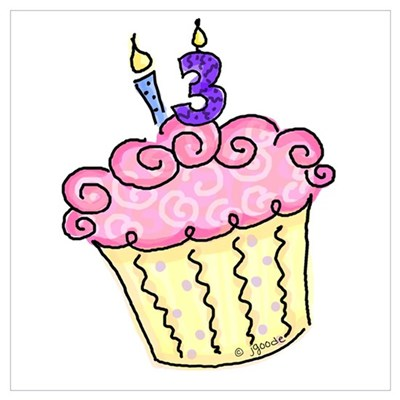 Free Birthday Clipart 13th, Download Free Clip Art on Owips.com.