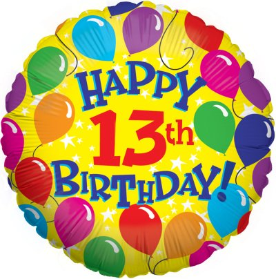 Free 13 Birthday Cliparts, Download Free Clip Art, Free Clip Art on.