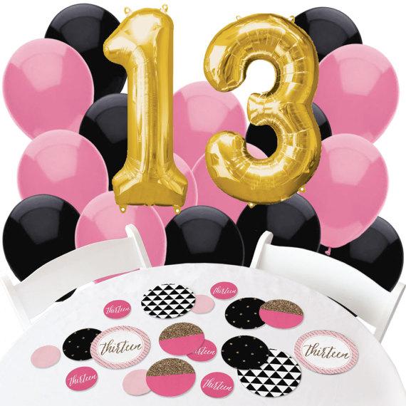 13th Birthday Decorations.