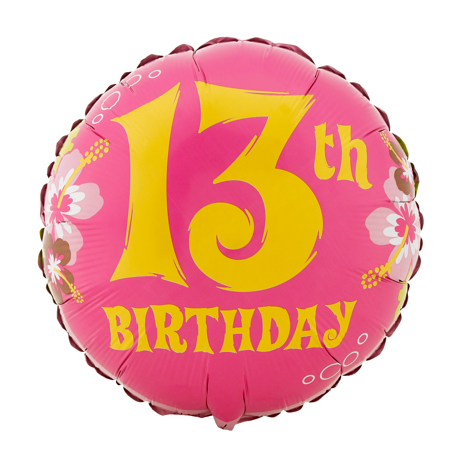 13th Birthday Clip Art N2 free image.