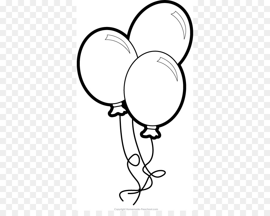 Balloons Clipart Black And White Group (+), HD Clipart.
