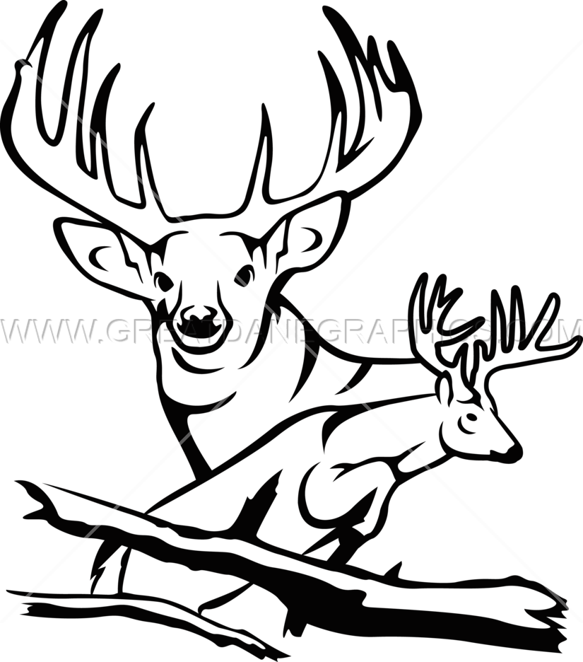 Hunting clipart 8 point buck, Hunting 8 point buck.