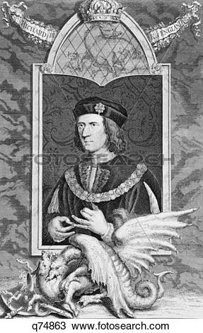 Stock Photo of 1400S 1480S Richard Iii Last Plantagenet King Of.