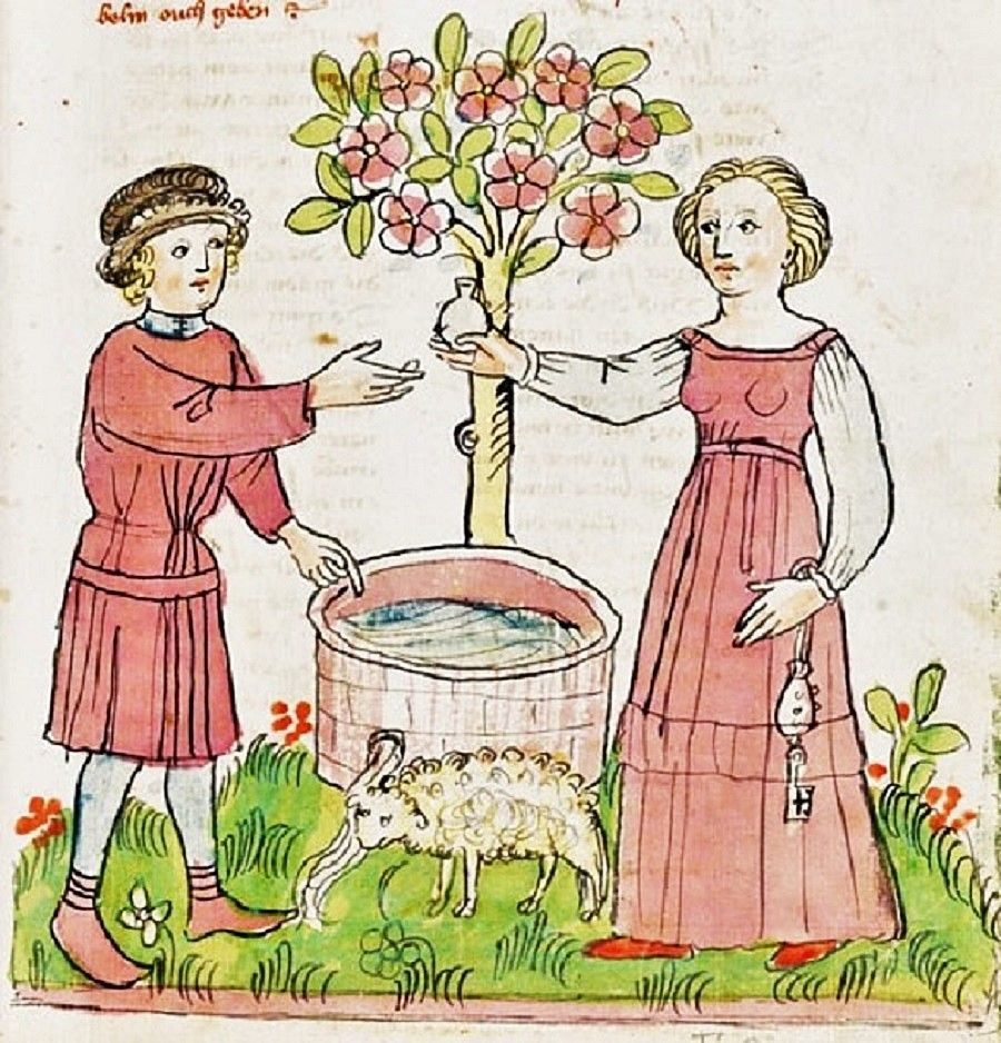 It's About Time: 1400s Biblical Gardens.