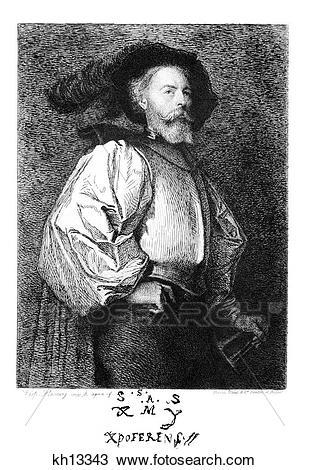Stock Photo of 1400S 1490S Portrait Of Christopher Columbus.