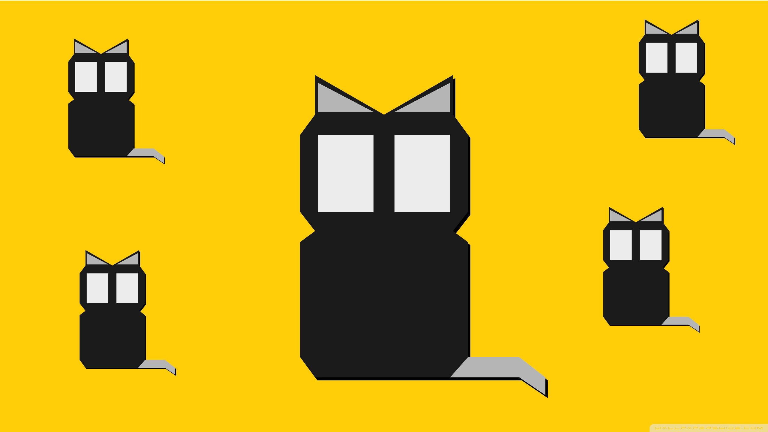 Cats HD desktop wallpaper : Widescreen : High Definition.