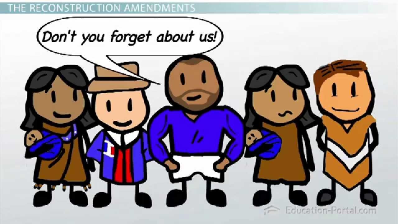 The Reconstruction Amendments: The 13th, 14th, and 15th Amendments.
