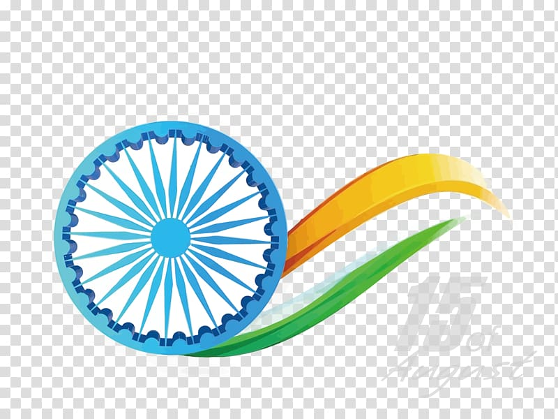 White and blue , Indian Independence Day Republic Day August.