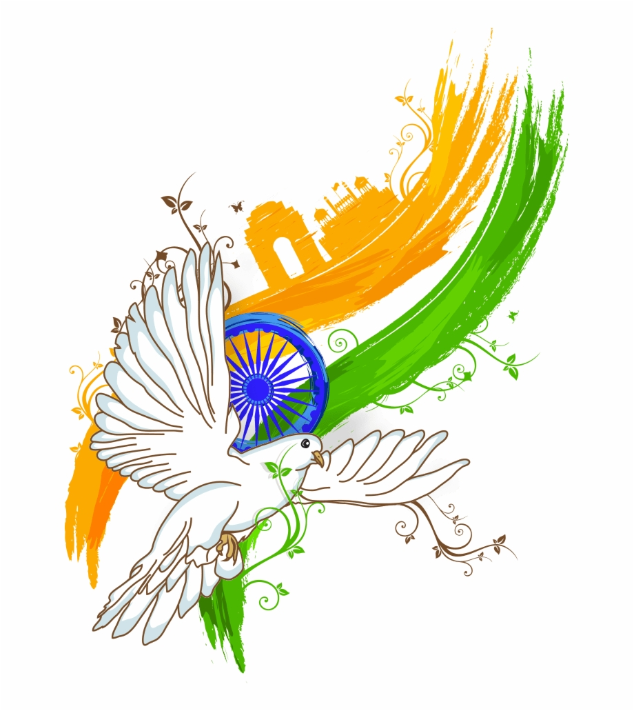 Indian Flag, 15 August, Happy Independence Day.