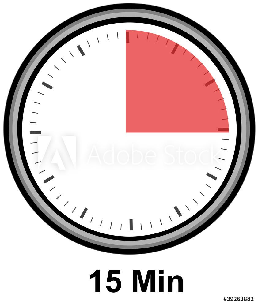timer 15 min.