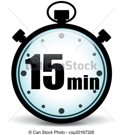15 minutes Clipart and Stock Illustrations. 748 15 minutes vector.