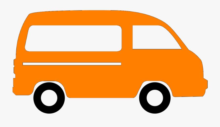Passenger Van Van Icon Clipart , Png Download.