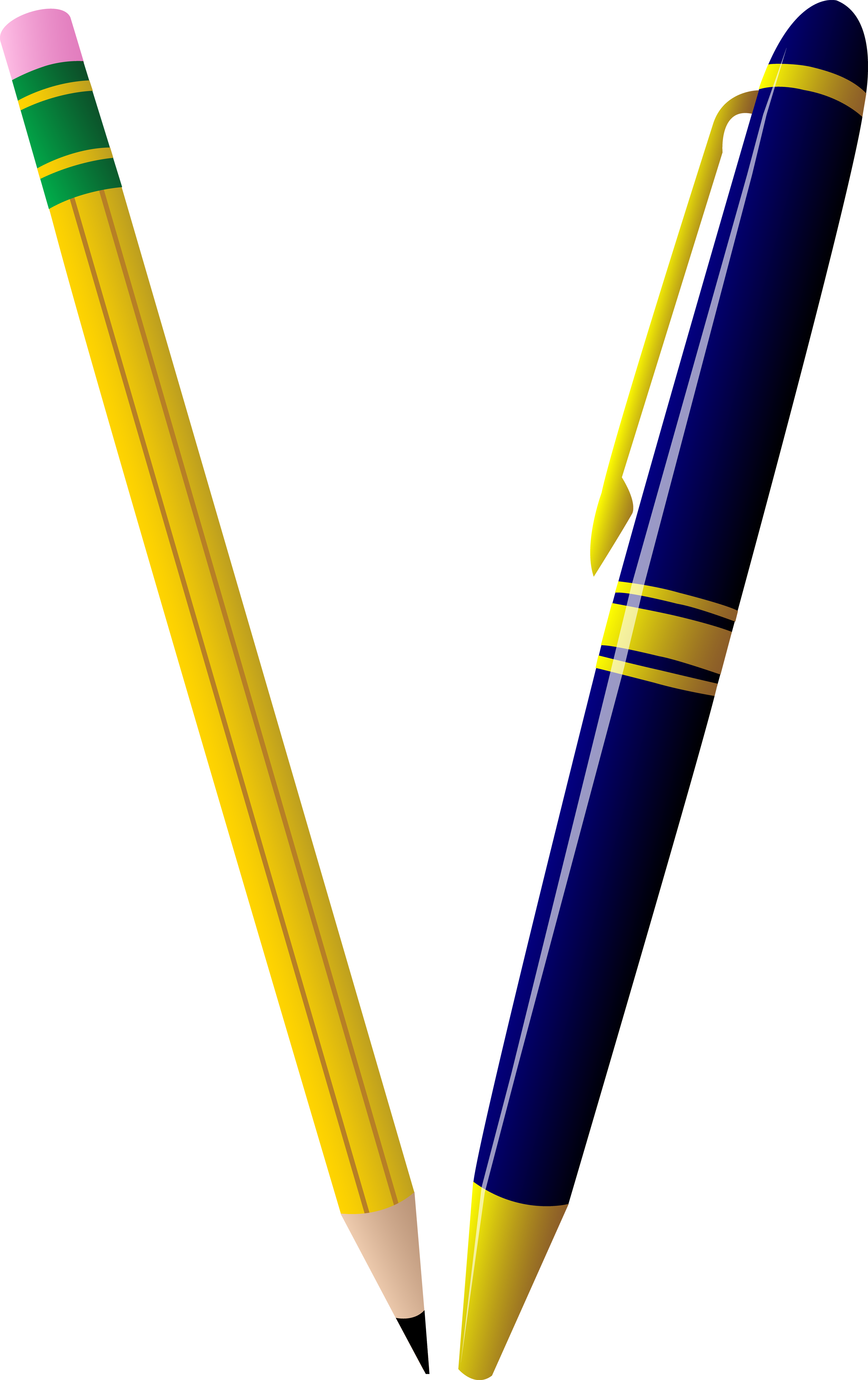 Pencil Ballpoint pen Clip art.