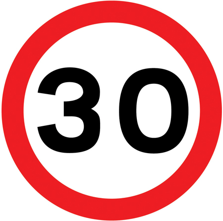 Free Speed Limit Sign, Download Free Clip Art, Free Clip Art.