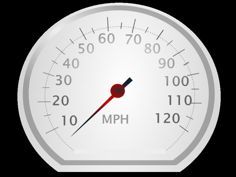 Free Clipart: Speedo meter.