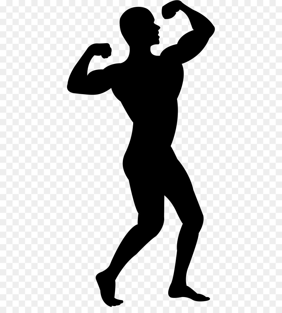 Silhouette Muscle Computer Icons Clip art.