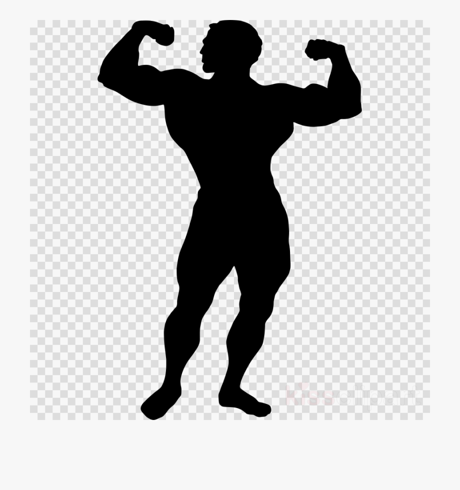 Muscular Man Silhouette Png , Transparent Cartoon, Free.