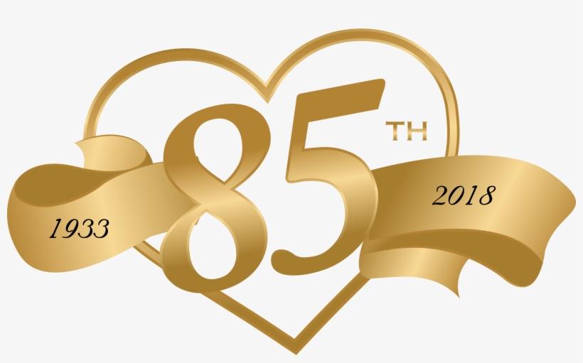 Cropped 85th Church Anniversary Logo 1.