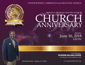 360+ Church Anniversary Customizable Design Templates.