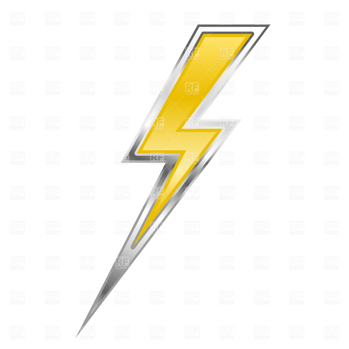 Lightning bolt Vector Image #1527.