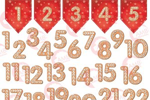 Gingerbread clipart Photos, Graphics, Fonts, Themes, Templates.