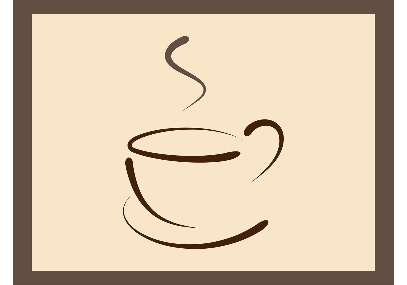 Coffee Cup Vector Free.