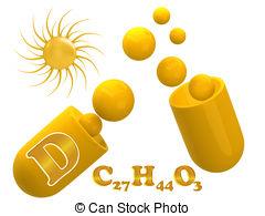 Vitamin D Milk Carton Clipart.
