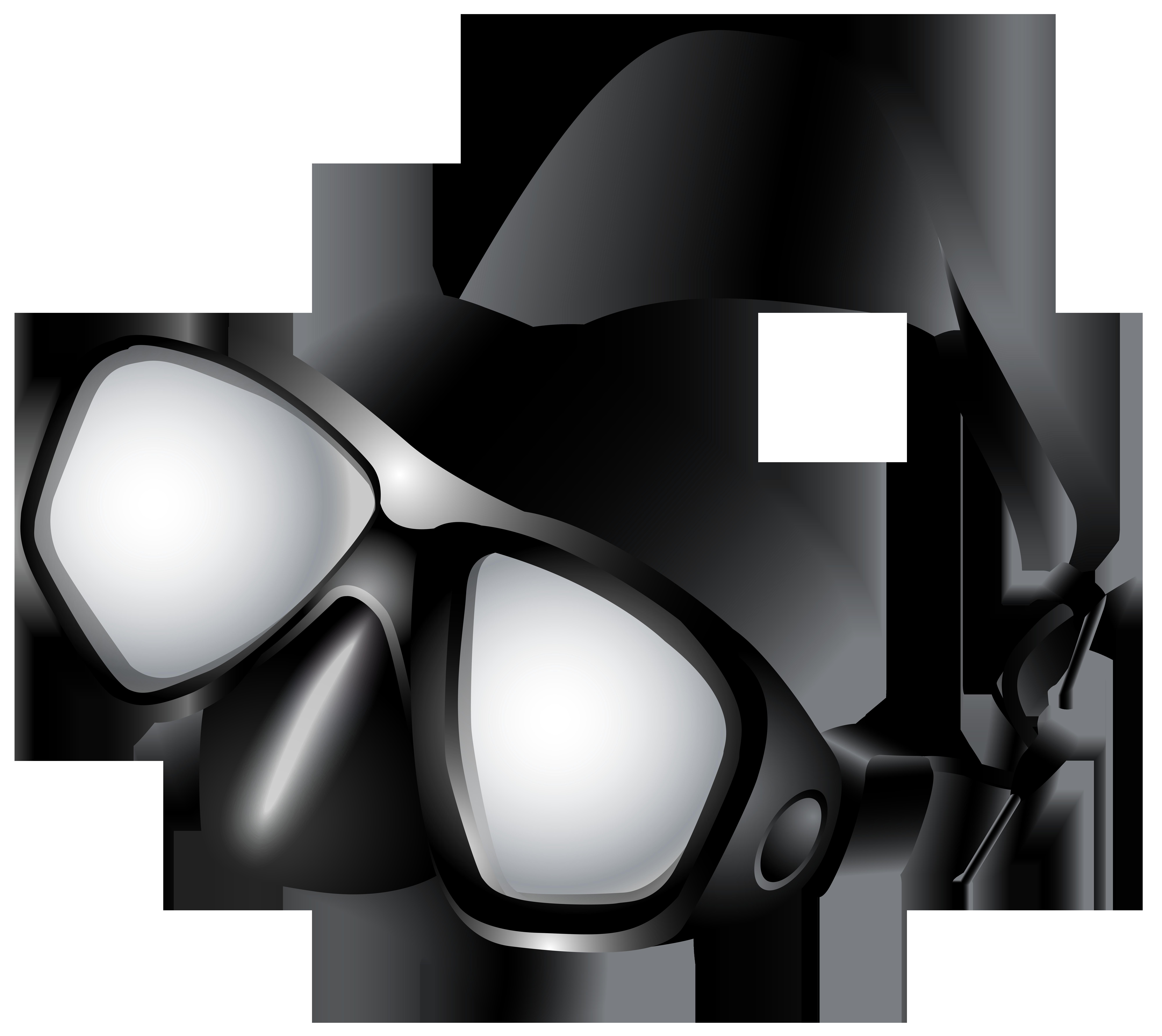 Dive Mask PNG Clip Art.
