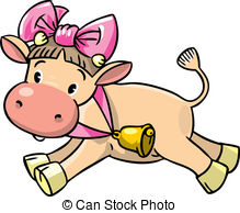Baby cow Clip Art Vector Graphics. 1,533 Baby cow EPS clipart.
