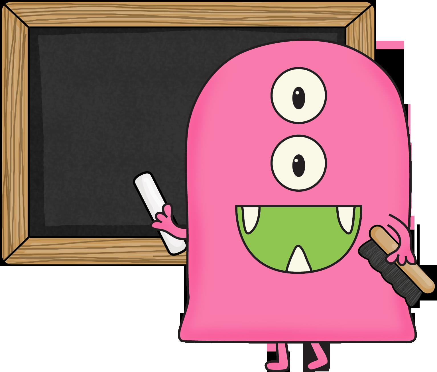 Free Monster Clip Art for Teachers.