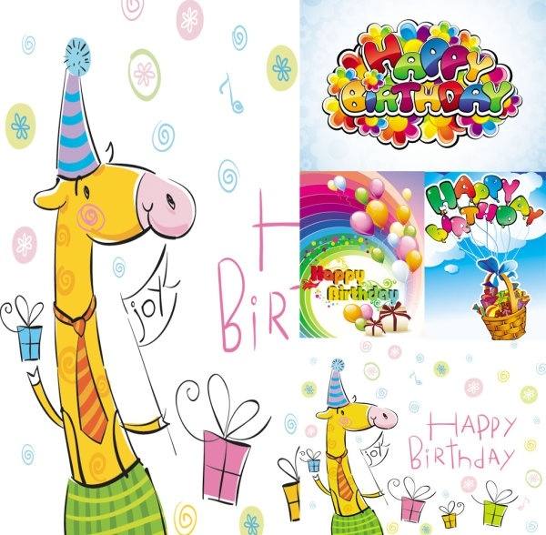 Happy birthday clip art free free vector download (213,003 Free.
