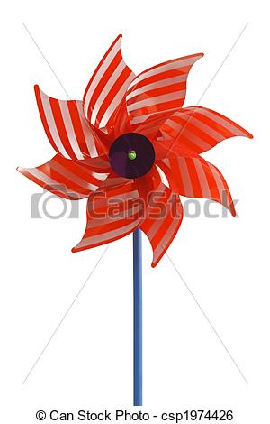 Wind Wheel Clipart And Stock Illustrations 1545 Wind Wheel Red.