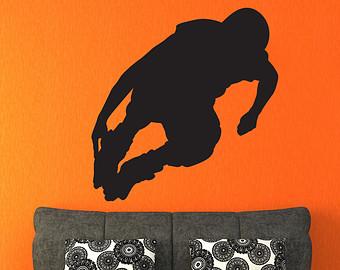 Skate silhouette.