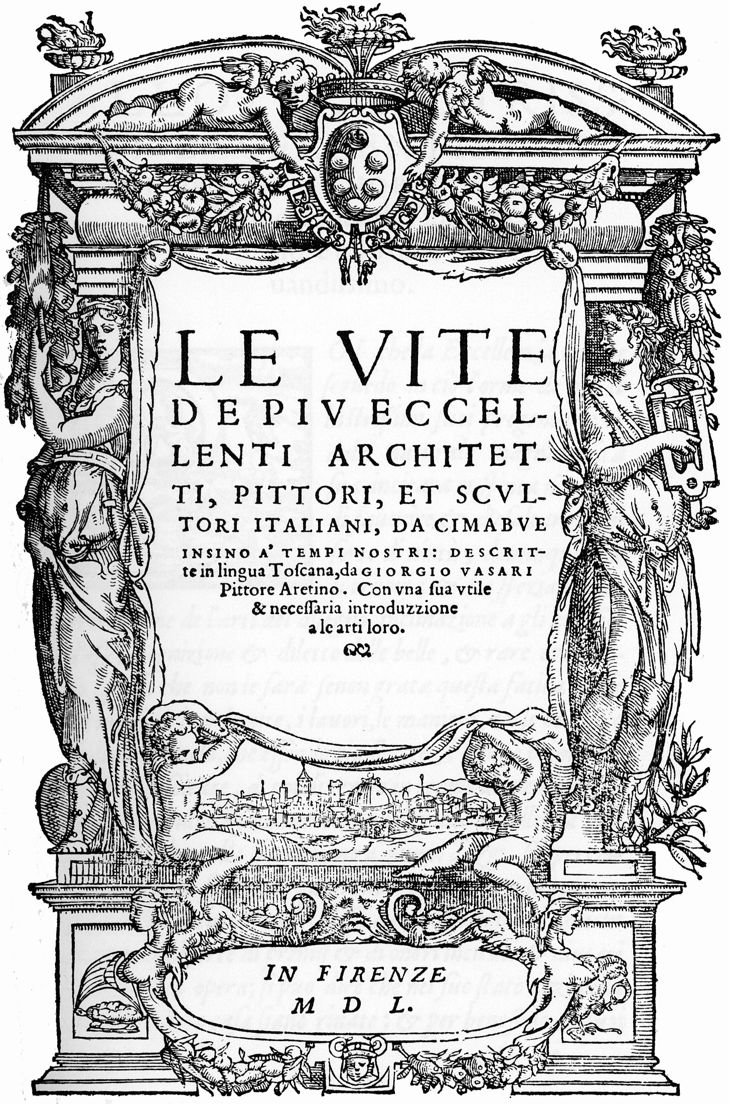 Vasari's Lives of the most Eminent Painters, Architects, Sculptors.