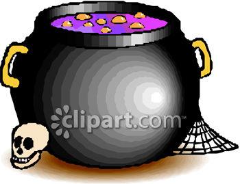 A Bubbling Cauldron.