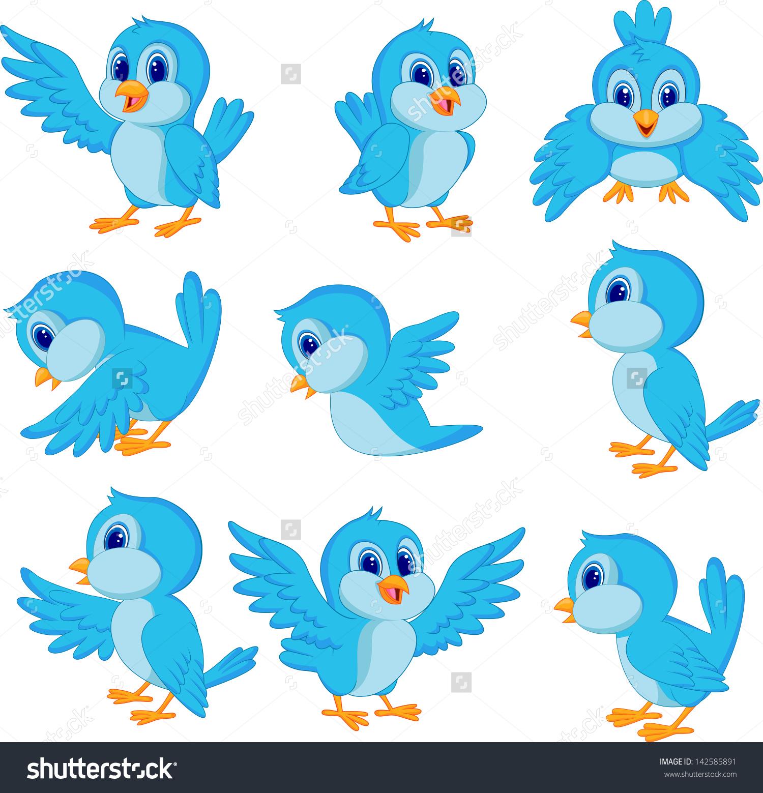 Flying Bird Clipart Cute Birds 1500×1559 Attachment.