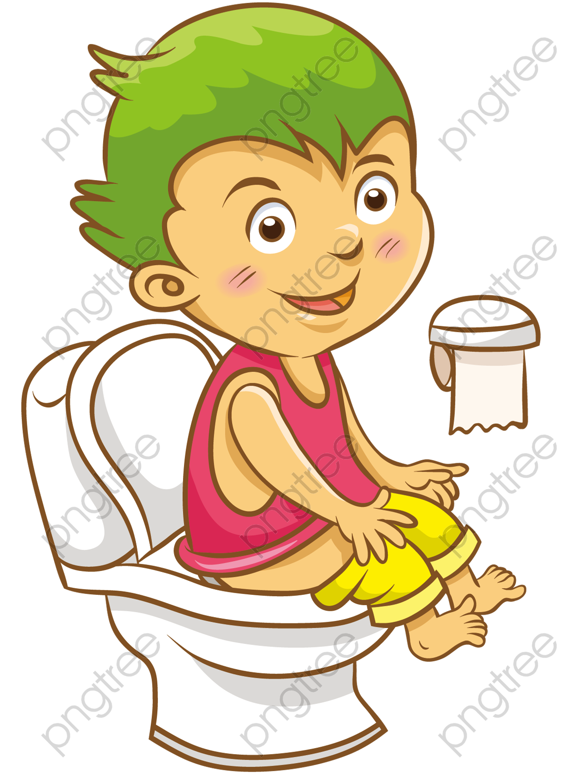 Transparent children's toilet PNG Format Image With Size 1133*1559.