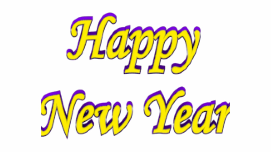 Happy New Year Clipart Hat.