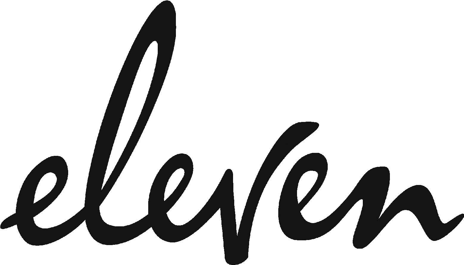 Eleven Years Logo Clipart.