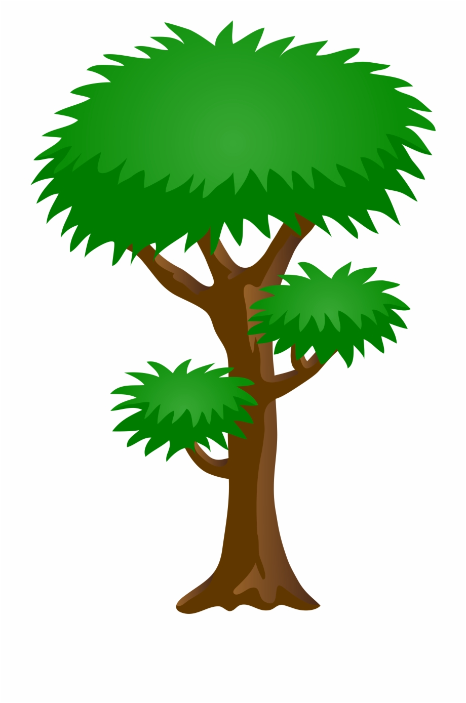 Green Tree Png Clip Art Image.