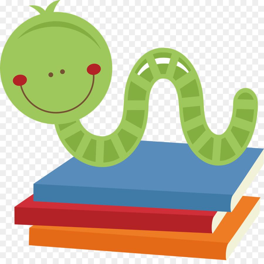 Bookworm Clip art.