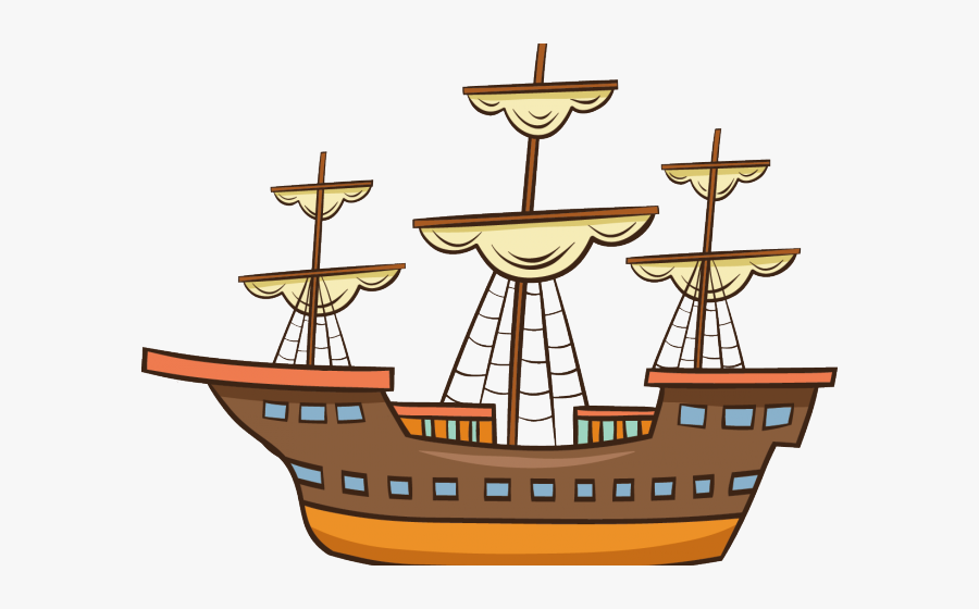 Caravel Ship Clipart , Free Transparent Clipart.