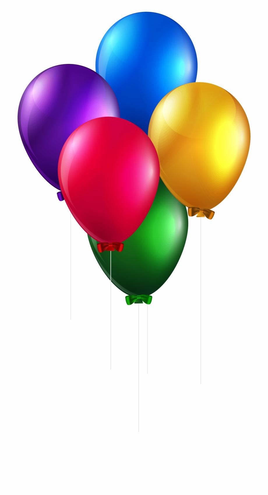 Balon Png Clip Art Birthday Balloons.