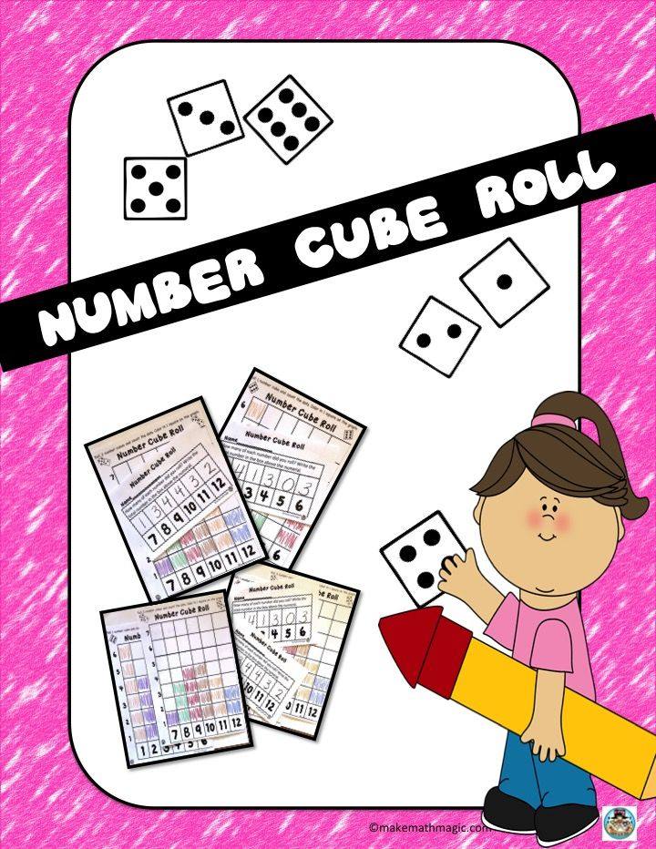 Number Cube Roll.