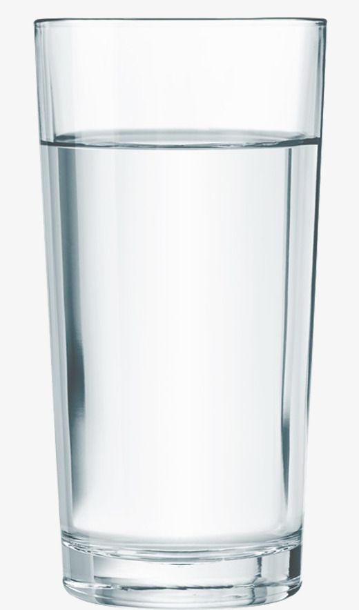 A Glass Of Water And A Glass Png Free Download, Water.