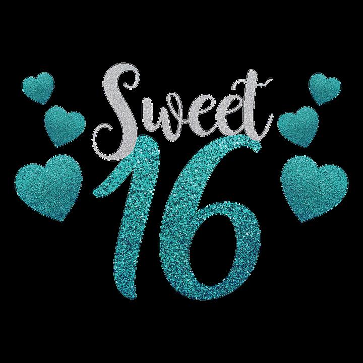 Sweet Sixteen Birthday 16.