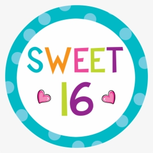 Sweet 16 PNG Images.
