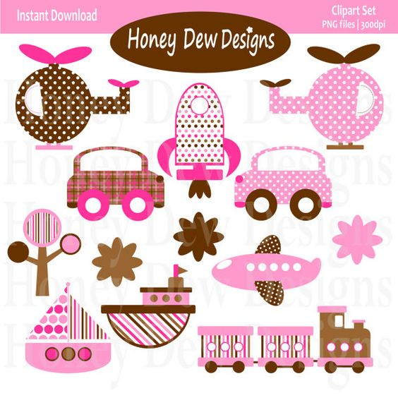 Transportation, Pink and Brown on Pinterest.
