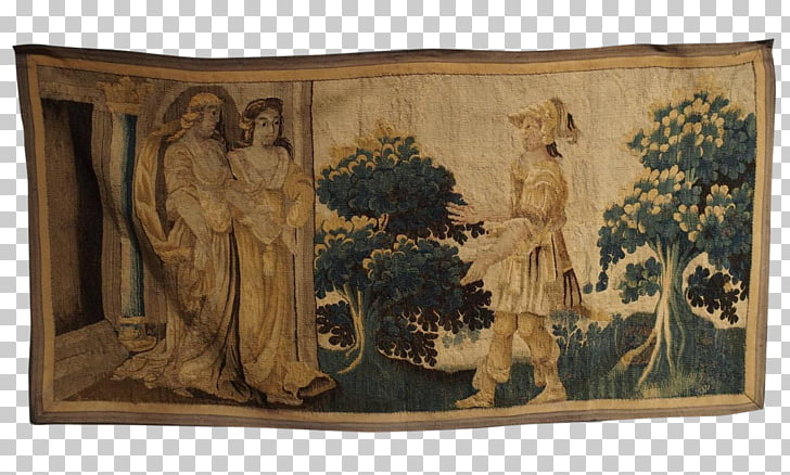 17th century 1600s Beauvais Aubusson Tapestry, others PNG.
